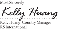 Signature Stamp With 1 Top & 2 Bottom Text
