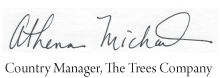 Signature Stamp With 1 Bottom Text