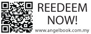 QR Code Stamp with 3 Line text