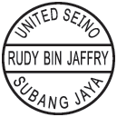 Round Personal Stamp with 3 Line Text